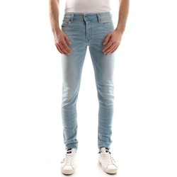 Vêtements Homme Jeans slim Diesel SLEENKER L.32 JEANS Homme DENIM LIGHT BLUE DENIM LIGHT BLUE