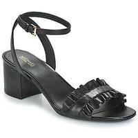 Chaussures Femme Sandales et Nu-pieds MICHAEL Michael Kors BELLA FLEX MID Noir