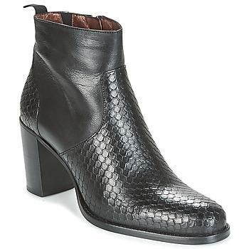 Chaussures Femme Bottines Muratti RUSTIK PRSM Noir