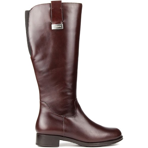 Chaussures Femme Bottes CallagHan Bottes  BOND RIDE CHOCOLAT