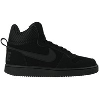 Chaussures Homme Baskets montantes Nike Court Borough Mid SE Noir