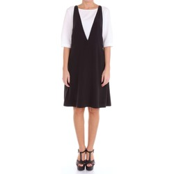 Vêtements Femme Robes courtes Moschino Boutique 04150834 Robe Femme Noir et blanc Noir et blanc