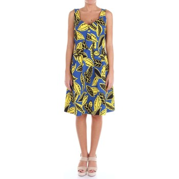 Vêtements Femme Robes courtes Moschino Boutique 04080850 Robe Femme Bleu et jaune Bleu et jaune