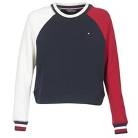 Vêtements Femme Sweats Tommy Hilfiger APRIL-ROUND-NK-SWEATSHIRT Bleu / Blanc / Rouge