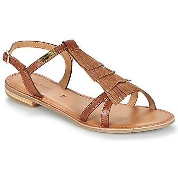 Chaussures Femme Sandales et Nu-pieds Les Tropéziennes par M Belarbi BELIE Tan
