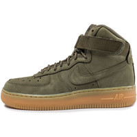 Chaussures Enfant Baskets montantes Nike Air Force 1 High Wb Olive Vert