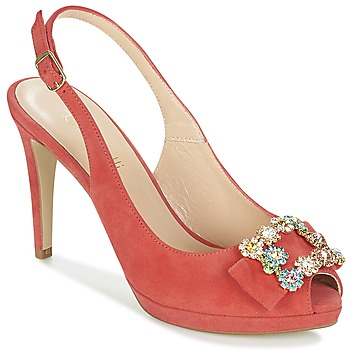 Chaussures Femme Sandales et Nu-pieds Fericelli INEWO Rouge