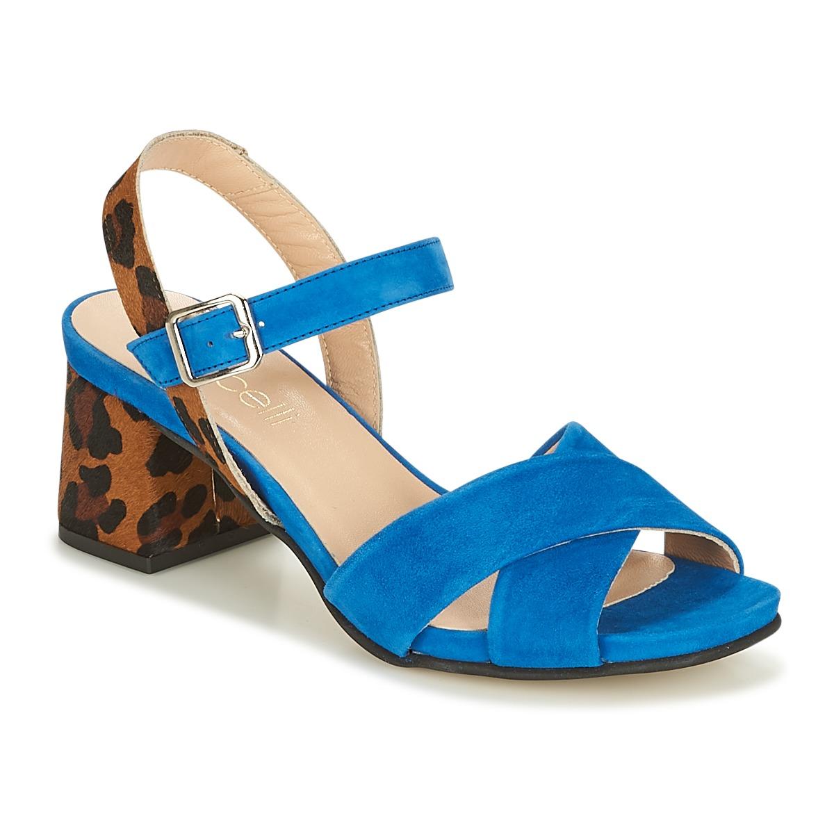 Fericelli IMOLGA Bleu - Livraison Gratuite avec  - Chaussures Sandale Femme