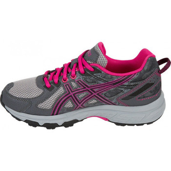 Chaussures Fille Baskets basses Asics Gel Venture 6 Junior - Ref. C744N-9790 Gris