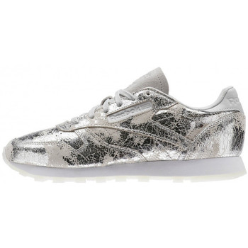 Chaussures Femme Baskets basses Reebok Sport Classic Leather Hype - Ref. BS6785 Gris