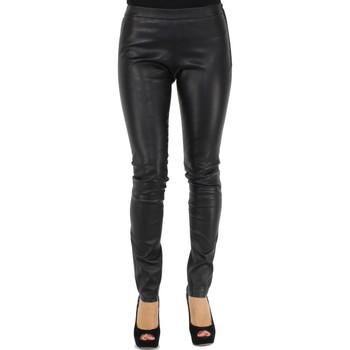 Vêtements Homme Leggings Giorgio Cuirs Leggings Giorgio cuir stretch ref_cco32451 noir Noir