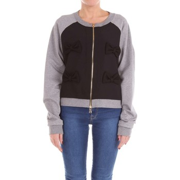 Vêtements Femme Sweats Moschino Boutique 17041125 sweat-shirt Femme Noir et gris Noir et gris