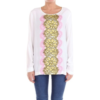 Vêtements Femme Pulls Moschino Boutique 02121137 pull-over Femme Blanc Blanc