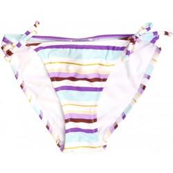 Vêtements Fille Maillots de bain 1 pièce Princesse Ilou Slip de bain fille rayé violet Violet