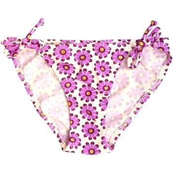 Vêtements Fille Maillots de bain 1 pièce Princesse Ilou Slip de bain fille violet à fleur Violet