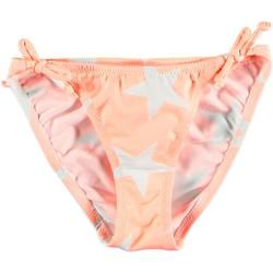 Vêtements Fille Maillots de bain 1 pièce Princesse Ilou Slip de bain fille orange étoilé Orange