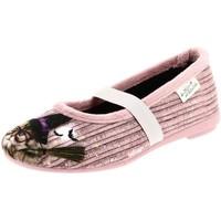 Chaussures Fille Ballerines / babies La Maison De L'espadrille 9056 rose