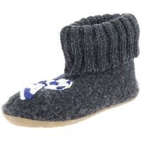 Chaussures Garçon Chaussons Haflinger 483114 gris