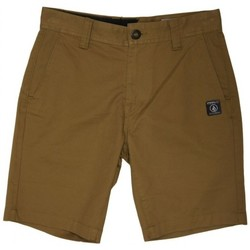Vêtements Homme Shorts / Bermudas Volcom Short  Frickin Slim Chino - Burnt Khaki Autres
