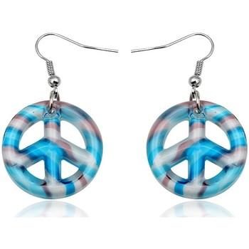 Montres & Bijoux Femme Boucles d'oreilles Blue Pearls CRY 8815 T Autres