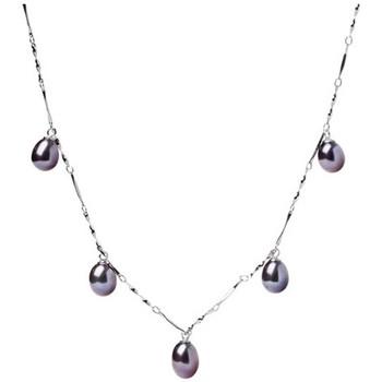 Montres & Bijoux Femme Colliers / Sautoirs Blue Pearls BPS 1200 O Noir