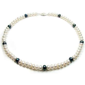 Montres & Bijoux Femme Colliers / Sautoirs Blue Pearls BPS 0201 Y Multicolore