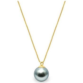 Montres & Bijoux Femme Colliers / Sautoirs Blue Pearls BPS K010 W Nacré