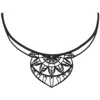 Montres & Bijoux Femme Colliers / Sautoirs Blue Pearls LAD 0014 G Transparent