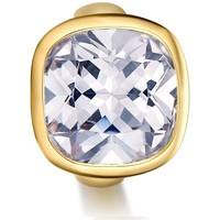 Montres & Bijoux Femme Bijoux Blue Pearls Charms Beads Cristal Blanc en Acier Inoxydable Or Jaune Multicolore