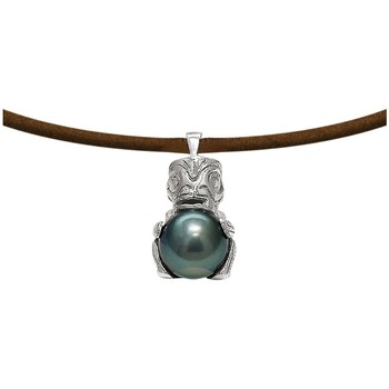 Montres & Bijoux Femme Colliers / Sautoirs Blue Pearls BPS K267 W Multicolore