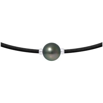 Montres & Bijoux Femme Colliers / Sautoirs Blue Pearls BPS K262 W Vert