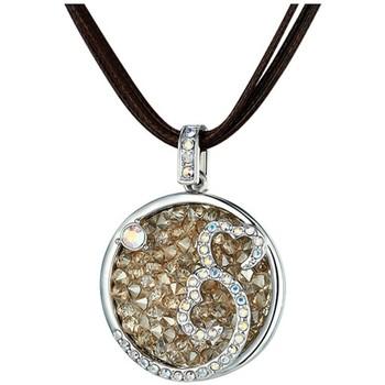 Montres & Bijoux Femme Colliers / Sautoirs Blue Pearls CRY E264 J Vert