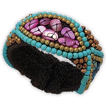 Montres & Bijoux Femme Bracelets Blue Pearls NUB 3124 E Multicolore