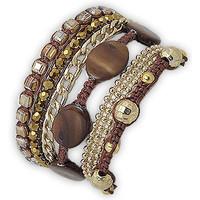 Montres & Bijoux Femme Bracelets Blue Pearls NUB 3128 E Nacré