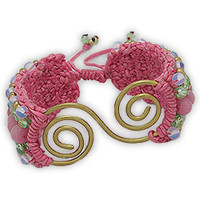 Montres & Bijoux Femme Bracelets Blue Pearls NUB 3136 E Multicolore