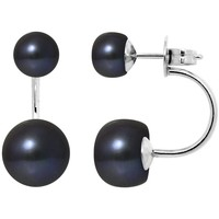 Montres & Bijoux Femme Boucles d'oreilles Blue Pearls BPS K376 W Multicolore