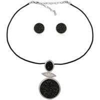 Montres & Bijoux Femme Parures Blue Pearls CRY 8614 T Noir