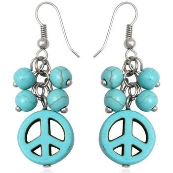 Montres & Bijoux Femme Boucles d'oreilles Blue Pearls CRY 8369 T Autres