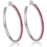 Montres & Bijoux Femme Boucles d'oreilles Blue Pearls CRY B359 W Rouge