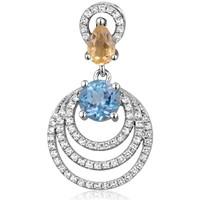 Montres & Bijoux Femme Pendentifs Blue Pearls CRY J253 X Multicolore