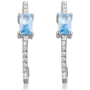 Montres & Bijoux Femme Boucles d'oreilles Blue Pearls CRY J341 X Multicolore