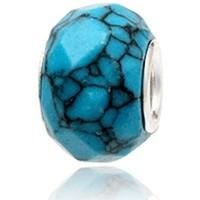 Montres & Bijoux Femme Pendentifs Blue Pearls MIS 4013 T Argenté