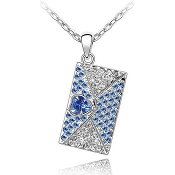 Montres & Bijoux Femme Pendentifs Blue Pearls CRY A264 G Bleu