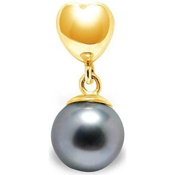 Montres & Bijoux Femme Pendentifs Blue Pearls BPS K274 W Doré