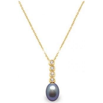 Montres & Bijoux Femme Colliers / Sautoirs Blue Pearls BPS K017 W Multicolore
