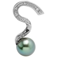 Montres & Bijoux Femme Pendentifs Blue Pearls BPS K292 W Vert