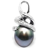 Montres & Bijoux Femme Pendentifs Blue Pearls BPS K279 W Blanc