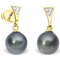 Montres & Bijoux Femme Boucles d'oreilles Blue Pearls BPS K354 W Multicolore