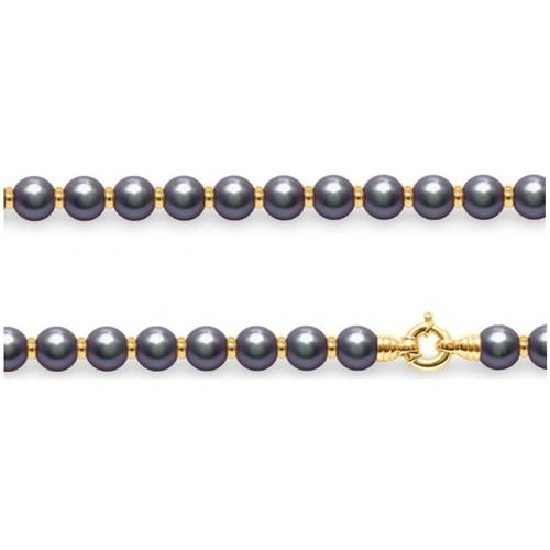 Montres & Bijoux Femme Colliers / Sautoirs Blue Pearls BPS K001 W Multicolore