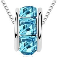 Montres & Bijoux Femme Pendentifs Blue Pearls PDC B920 W Bleu